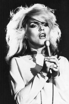 Blondie! So cool and pretty