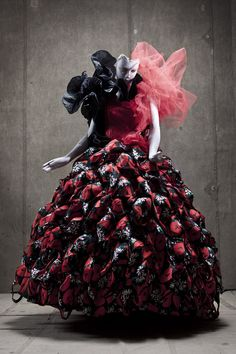 Full series at http://www.darkbeautymag.com/2013/04/carl-thorborg-for-charles-koroly/    Photographer: Carl Thorborg  Designer: Charles Koroly  Location: Stockholm Dance Museum (Stockholms Stadsteater Skärholmen)