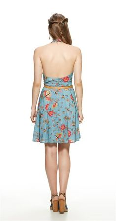 Vestido Floral Abelhas
