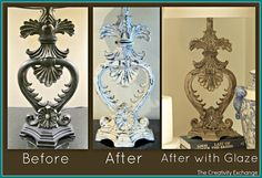 DIY Faux Plaster Paint Finish for Trash to Treasure Projects�