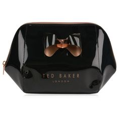 Ted Baker Rochel Wash Bag ($46) ❤ liked on Polyvore featuring beauty products, beauty accessories, bags & cases, cosmetic bag, dopp bag, wash bag, travel kit and ted baker