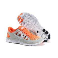 Nye Ankomst Nike Free 5.0+ Lysgrå Orange Unisexsko Skobutik | Nyeste Nike Free 5.0+ Skobutik | Populær Nike Free Skobutik | denmarksko.com