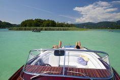 Urlaub am See - Sonnen an  Deck. @ Wörthersee Tourismus GmbH, Foto Gerdl #woerthersee #sommerurlaub #urlaub # austria Wonderful Places, Austria, Explore, Life, Pictures, Summer Vacations, Caribbean, Tourism, Alps