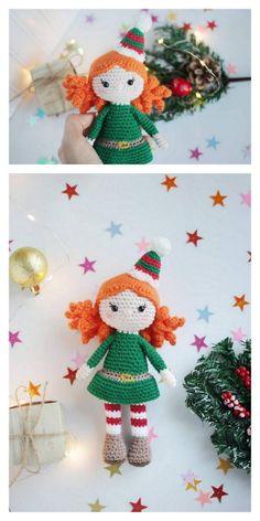 Amigurumi Ballerina Doll Free Pattern Crochet Doll Pattern, Crochet Patterns Amigurumi, Amigurumi Doll, Crochet Toys, Free Crochet, Knitting Patterns, Ballerina Doll, Stuffed Toys Patterns, Single Crochet