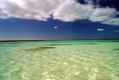Crystal waters of Cayo Coco
