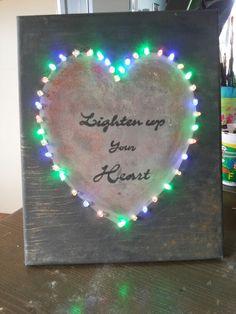 Wandbord met klok voor in mijn woonkamer gemaakt 70cm x 40cm  Made by ...