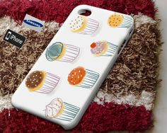 Cup cakes Case for iPhone 4/4S iPhone 5/5S iPhone 5C and by Jirolu, $14.50