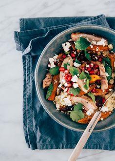 couscous salade met kip