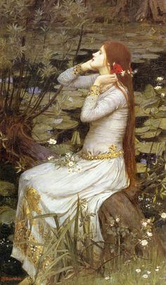 "Waterhouse.  I think this is ""Ophelia"""