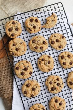 Ok, today I'm sharing with you what I consider to be the perfect cookie texture. Crispy exterior, with a moist and chewy center. Chocolate Chip cookies are my favorite kind of cookie, making vegan cookies is fairly simple. These Best Vegan Chocolate Chip Cookies are a huge, huge reader fave. I absolutely love these though, because I love the extra
