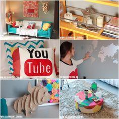 Decor casa Juliana Goes em vídeo