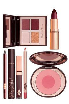 for the perfect fall look, try 'The Vintage Vamp' set by Charlotte Tilbury http://www.revolvechic.com/