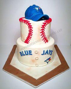 Toronto Blue Jays Cake Cakes Pinterest Jay Toronto and Cake