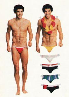 1970's - Men's Swimsuits Ad