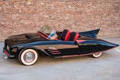 The original Batmobile was built in a barn in 1960 by 23-year-old Forrest Robinson and his buddy Len Perham. This Batmobile started its life as a 1956 Oldsmobile 88, but Robinson and Perham removed the body and replaced it with one that was custom-designed. The model for his car was the one that was seen in DC comics and Batman fans will see that it's a lot truer to the comicbook Batmobile than the one that appeared on television.