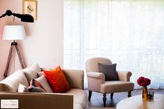Salon/Salle à manger Tangerine & Broc - Coaching Décoration |