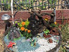 Dragon Lair Fairy Garden