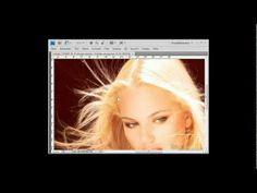Photoshop Tutorial deutsch - Haare freistellen mit Kanälen