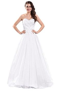 Dora Bridal Women´s Tulle Ball Gown Prom Dresses Formal Evening Gowns Size 2 US White Dora Bridal http://www.amazon.com/dp/B016I35RHS/ref=cm_sw_r_pi_dp_bbElwb0AT3WK9