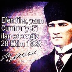 """""""#cumhuriyet#atatürk#efendiler#vatan#gunaydin"""""""