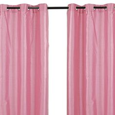 Brigitte Curtain in Bubble Gum (Set of 2) at Joss & Main
