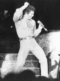 "Tom Jones.  He doesn't move much now but when he did, he did!  His version of ""Kiss"" by Prince was the best remake of any song I know."