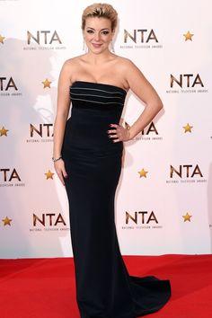 Sheridan Smith Sheridan Smith, Strapless Dress Formal, Formal Dresses, Awards, British, How To Wear, Fashion, Dresses For Formal, Moda