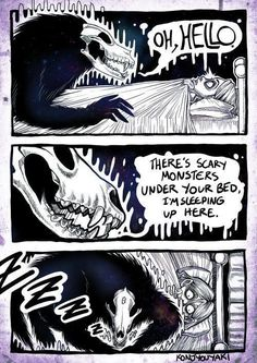 More memes, funny videos and pics on 9gag Funny, Funny Jokes, Hilarious, Memes Humor, Scary Monsters, Arte Horror, Funny Comics, Funny Cute, Comic Strips