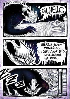 via Konjyouyaki | #facebook #creepypasta #konjyouyaki #quadrinhos #comics