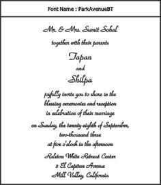 Simple Indian Wedding Invitation Wording For Friends