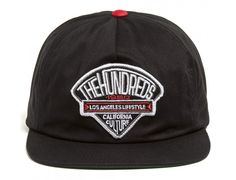 Dime Black Snapback Cap by THE HUNDREDS Black Snapback, Snapback Cap, Black Chinos, The Hundreds, Streetwear Brands, Headgear, Street Wear, Baseball Hats, Accessories