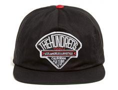 Dime Black Snapback Cap by THE HUNDREDS