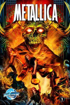 Metallica Immortalized in New Comic Book