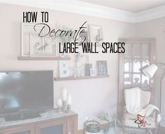 How To Decorate A Large Wall!