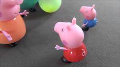 Peppa Pig en español. Peppa con su familia en una feria. Peppa Cerda jue...