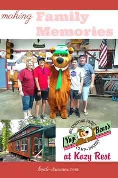 Enter to win a 2-night stay at Yogi Bear's Jellystone Park at Cozy Rest in Harrisville, PA!