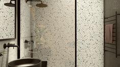 #blackandwhite #bathroomdesign #wooden #minimalisthome #minimalism #lastryko #lastriko #lastrykowelove #terrazzo #plantsinbathrooms #minimalistinterior #moderninteriors #blackandwhiteinterior #plants #interiordesign #architekturawnetrz #design #cozy #cosy #harmony #pracowniasttyk #sttyk #estetyka #pracowniasttyk Bathroom, Design, Living Room, Washroom, Full Bath, Bath, Bathrooms
