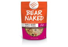 Here are the 12 healthiest snack foods to buy. These tasty, nutritious packaged bites will wean you off the vending machine.  Best Granola: Bear Naked Triple Berry Fit Granola