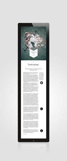 Berliner Schnauze iPad Magazine on Behance