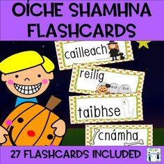 ie- Oíche Shamhna – Halloween Flashcards – Mash.ie Halloween Flashcards – Mash. Halloween Pictures, Halloween Art, Holidays And Events, Classroom, Teaching, Easter, Christmas, Yule, Halloween Photos