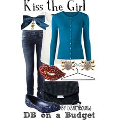 Kiss the Girl, created by lalakay on Polyvore