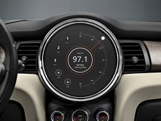 Mini Cooper Infotainment Interface – Chalk-Full