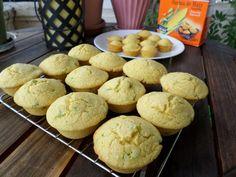 Sweet Jalapeno Cornbread Muffins