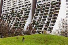 Wohnpark alt-erlaa, Wien, Austria