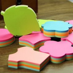 1000pages Multicolor Cute Sticker Bookmark Sticky Notes Point Marker Memo  #Haodental