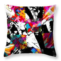 """Check Me Out Throw Pillow by Expressionistart studio Priscilla Batzell.  Our throw pillows are made from 100% spun polyester poplin fabric and add a stylish statement to any room.  Pillows are available in sizes from 14"""" x 14"""" up to 26"""" x 26"""".  Each pillow is printed on both sides (same image) and includes a concealed zipper and removable insert (if selected) for easy cleaning."""