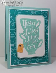 Stampin' Up! A Nice Cuppa Sneak Preview