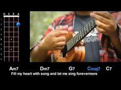 """Fly Me To The Moon"" (Frank Sinatra) Ukulele Play-Along! - YouTube"