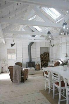 Sublime Ideas: Minimalist Decor Bedroom Loft minimalist home interior small.Minimalist Kitchen Decor Tiny House minimalist home apartments interior design.Modern Minimalist Home Interior. House Design, House, Interior, Home, Home Bedroom, Cabin Interiors, House Styles, Minimalist Decor, Minimalist Home