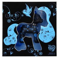 Collectors Art Pony Black  Hasbro  My Little Pony www.detoyboys.nl